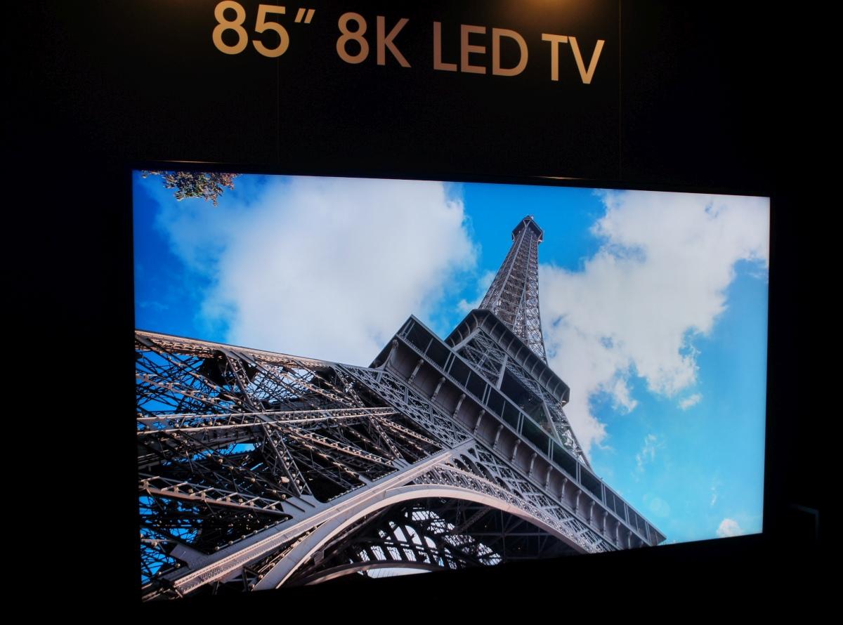 اولین تلویزیون 8K به زودی با قیمت بیش از ۱۳۰۰۰۰ دلار به فروش خواهد رسید