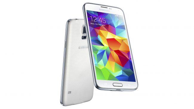 Samsung Galaxy S5 سیستم عامل: اندروید | اندازه صفحه نمایش: 5.1 اینچ | رزولوشن: 1920 در 1080 | رم: 2 گیگابایت | حافظه داخلی: 16/32 گیگابایت | باتری: 2800 میلی آمپر ساعت | دوربین عقب: 16 مگاپیکسل | دوربین جلو: 2 مگاپیکسل