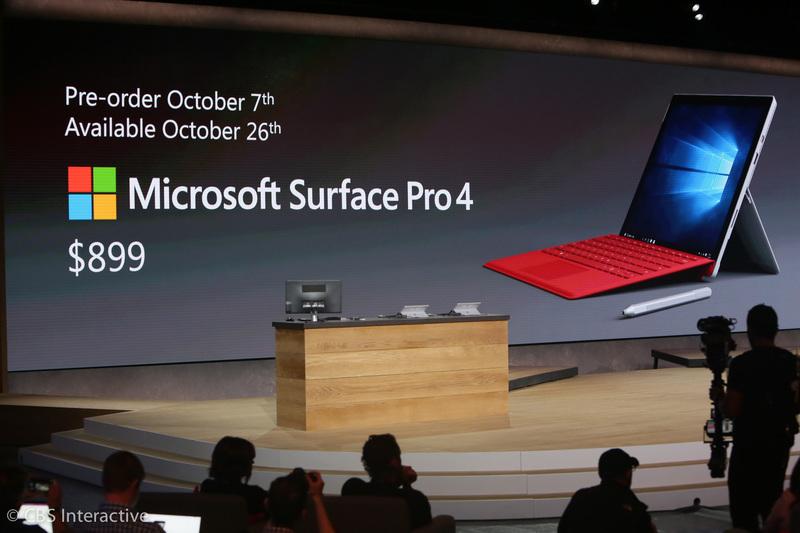 سرفیس پرو 4 با مبلغی معادل 899 دلار قیمت گذاری شده است و از 26 اکتبر در دسترس قرار می گیرد. از 7 اکتبر نیز پیش فروش آن آغاز می شود.