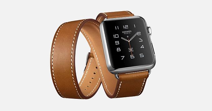 اپل واچ هرمس: ساعتی هوشمند با بند چرم دست ساز