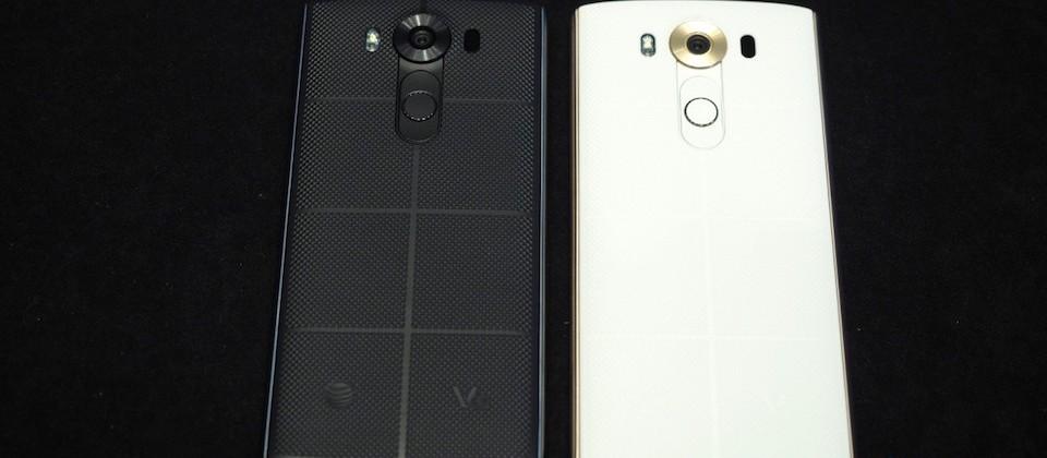 گوشی ال جی V10 با نمایشگر دوگانه توسط دو اپراتور AT&T و T-Mobile عرضه می شود