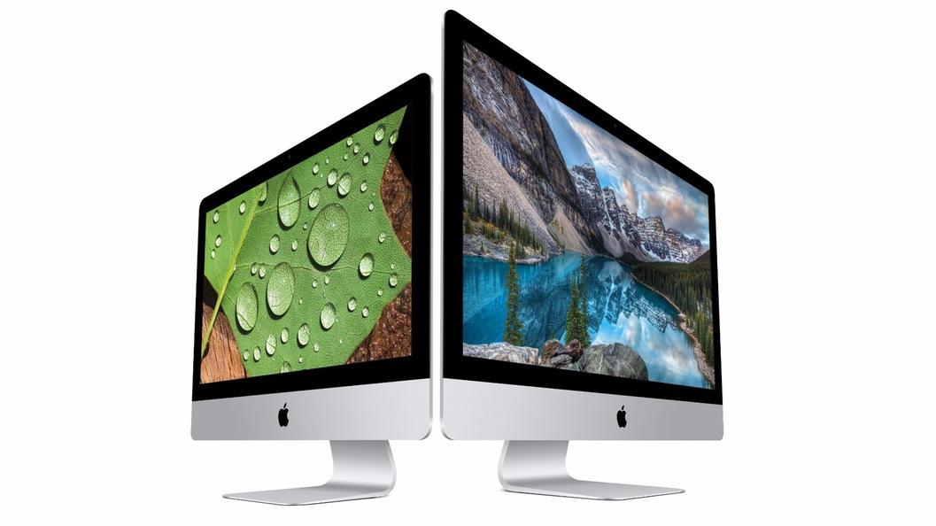 آی مک 21.5 اینچی اپل با نمایشگر 4k معرفی شد