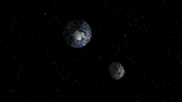 وحشت زده نشوید، 9 آبان یک سیارک غول پیکر از نزدیکی زمین رد خواهد شد