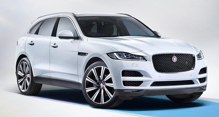 2017 Jaguar F-Pace  جگوار F-Pace 2017 یک SUV سایز متوسط است که نشانه هایی از طراحی کوپه اسپورت F-Type را نیز با خود بهمراه دارد. این خودروی پنج سرنشین جزئیات داخلی شبیه به مدل های سدان XE و XF را دارد. مدل F-Pace با هر دو حالت 340 یا 380 اسب بخار با موتور بنزینی V6 وارد بازار خواهد شد. از ویژگی های ایمنی این مدل می توان به دوربین های استریو که دیدی سه بعدی از جاده پیش رو می دهد، سیستم هشدار و تشخیص عابر پیاده و سیستم هشدار تغییر لاین اشاره کرد.