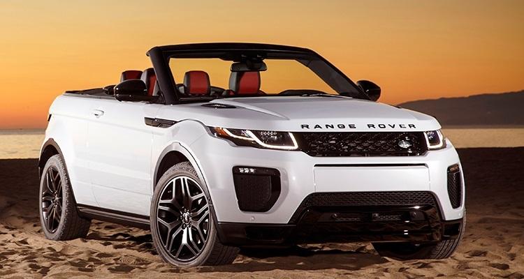 2017 Land Rover Range Rover Evoque  این خودرو ساز آمریکای شمالی مدل رنجرور ایووک (Range Rover Evoque) خود که یک SUV قابل تبدیل است را به نمایشگاه اتوموبیل لوس آنجلس امسال آورد. این خودروی چهار نفره با یک موتور توربو شارژ چهار سیلندر 240 اسب بخار قدرت تولید می کند. رنجرور ایووک در بهار سال 2016 برای فروش به بازارهای جهانی ورود خواهد کرد.