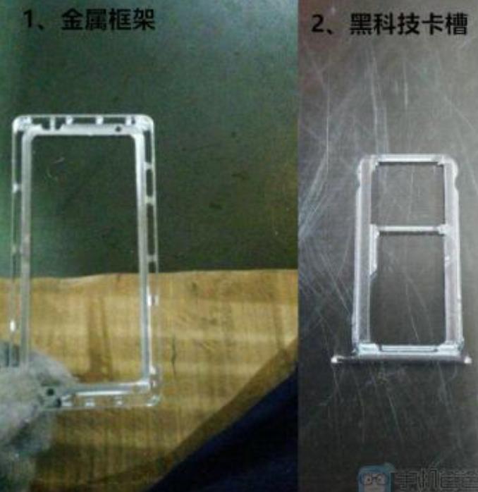 دو عکس دیگر توسط یکی از کارمندان شرکت فاکسکان (که در آن هوآوی میت 8 مونتاژ شده) فاش شده است.