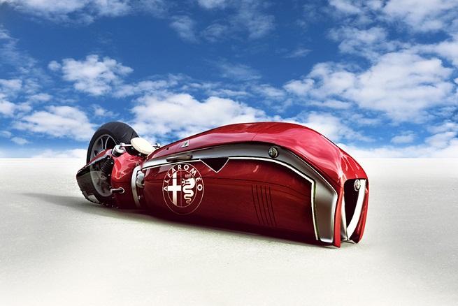 موتورسیکلت آلفا رومئو اسپریتو (Spirito) یک کانسپت برای قدرت نمایی بیشتر این خودرو ساز است