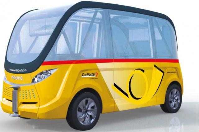 اولین اتوبوس خودران جهان، بهار 2016 در سوئیس آغاز بکار می کند