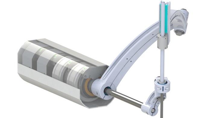 محققان فرانهوفر یک بازوی روباتیک طراحی کرده اند که می تواند بازوی سوم یک جراح باشد