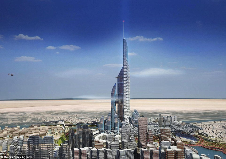 برج عروس بصره ؛ اولین شهر عمودی جهان!