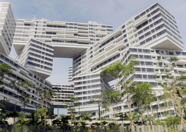 4 - دهکده شش ضلعی عمودی در سنگاپور، برترین سازه معماری جهان در سال 2015