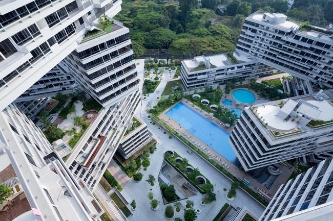 8 - دهکده شش ضلعی عمودی در سنگاپور، برترین سازه معماری جهان در سال 2015