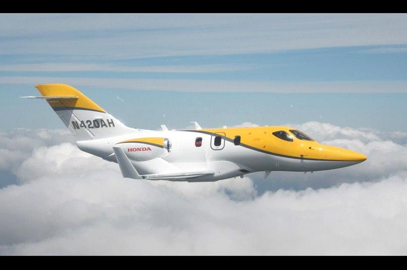 اولین جت هوندا ؛ هوندا جت یک هواپیمای تشریفاتی