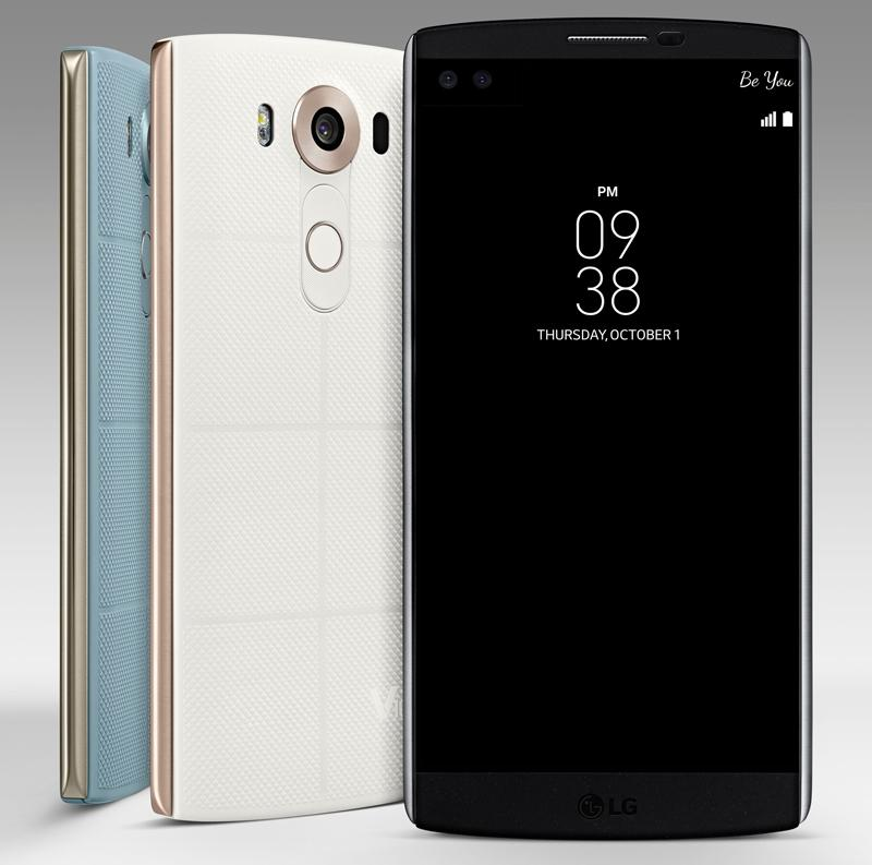 ال جی از یک گوشی که به نظر می رسید ال جی G4 پرو باشد، رونمایی کرد، اما در حقیقت این گوشی ال جی V10 است.