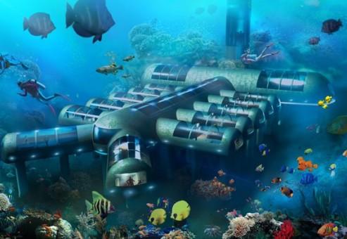 Planet Ocean Underwater Hotel: هتلی فوق العاده در زیر آب