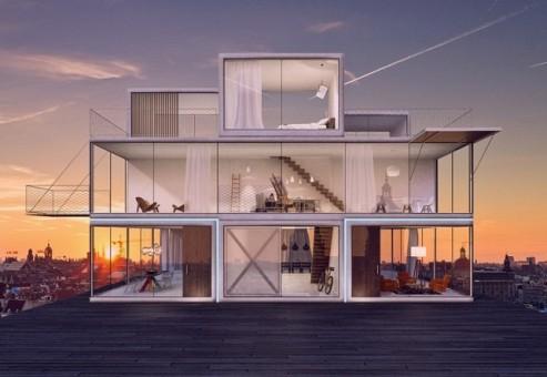 با معماری ماژولار Tetris House خانه ی دلخواه خود را بسازید