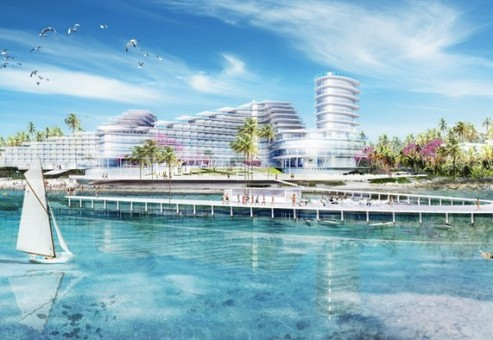 مرکز توریستی ۲۵۰ میلیون دلاری در جزایر کیمن
