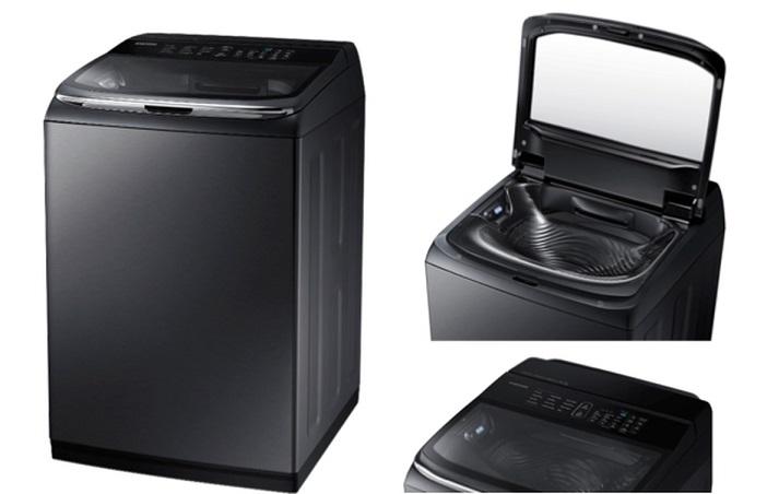 """دستگاهی برای از بین بردن لکه های سخت سامسونگ امسال ارتش خانگی خود را جدیدتر، کامل تر و بروزتر کرده و با قدرت تمام، بخش لوازم خانگی در نمایشگاه CES 2016 را رهبری می کند. سامسونگ با طراحی جدیدش در فهرست تمامی دستگاه های Activewash اش، در لاس وگاس قصد یکه تازی دارد. این دستگاه که با اسم WA50K8600 شناخته می شود، برچسب قیمتی 1099 دلاری را به خود می بیند و در رنگ های سفید و """"مشکی ضد زنگ"""" در دسترس قرار دارد. این دستگاه، مخزنی به عنوان ماشین مکمل در کنار ماشین لباسشویی شما، می تواند تضمین کند که هیچ لکه ای بر روی لباس هایتان باقی نخواهد ماند."""