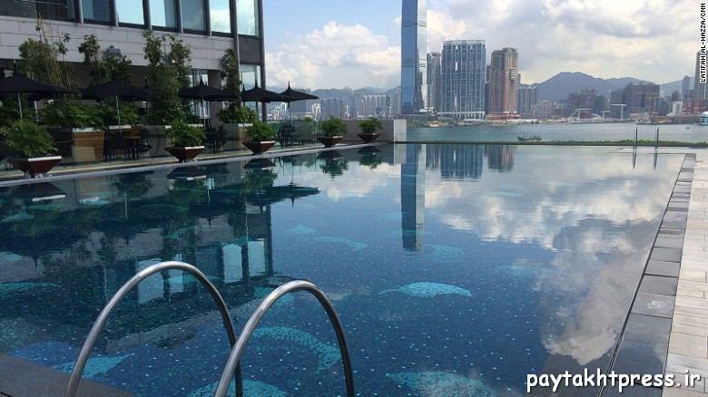 هتل چهارفصل هنگ کنگ، مناظر بینظیر و موزیک زیر آب