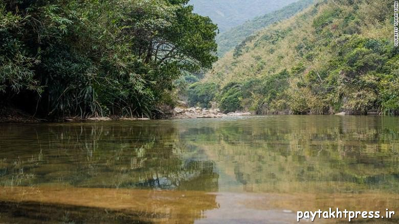 شیونگ لوک، برای رسیدن به این دریاچه باید یک ساعت پیاده روی کنید