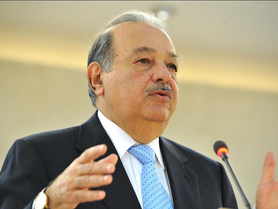 کارآفرین، بازرگان و سرمایهدار مکزیکی لبنانیتبار، فرد پر نفوذ تلکام، در سال 1991 در سن 51 سالگی به یک میلیاردر تبدیل شد.