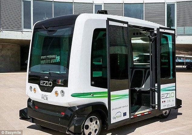 اولین اتوبوس خودران در جاده های عمومی هلند آزمایش شد