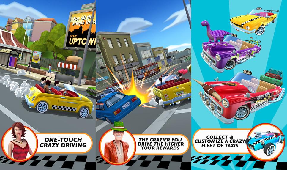 بازی تاکسی دیوانه Crazy Taxi