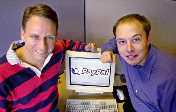 در سال ۲۰۰۱ بعد از ادغام این شرکت با X.com نامش به پی پل تغییر یافت و ایلان ماسک به عنوان مدیر اجرایی پی پل انتخاب شد.