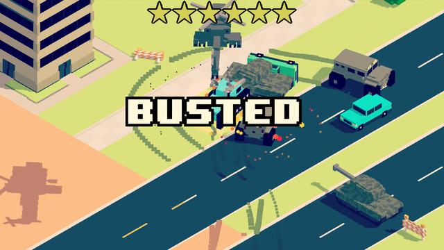 بازی جاده ی پر از ازدحام: تحت تعقیب Smashy Road: Wanted