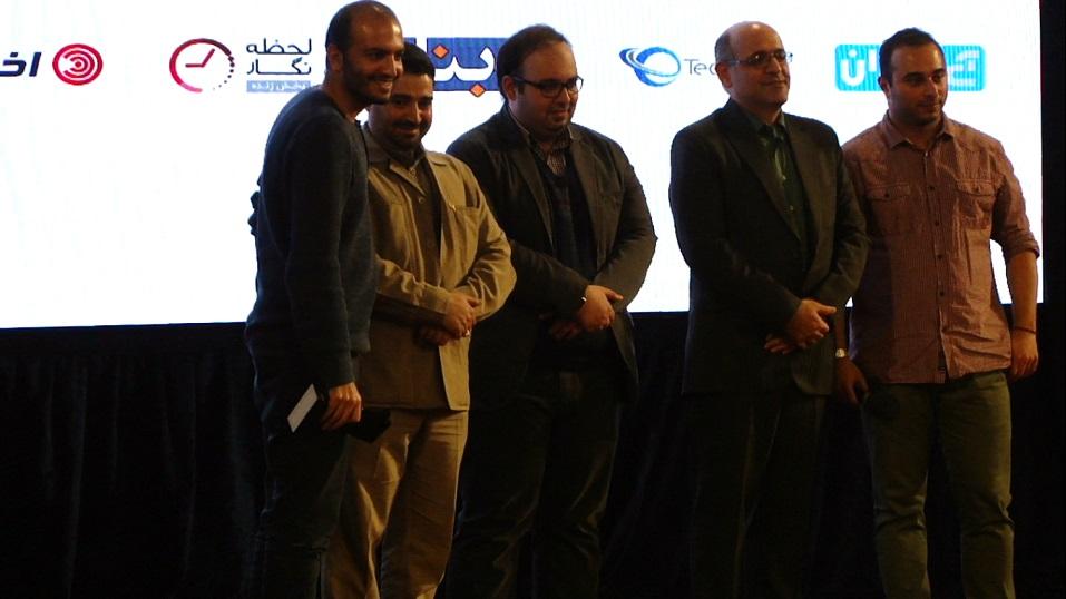 اهدای جوایز به برندگان جشنواره وب و عکس یادگاری - 2