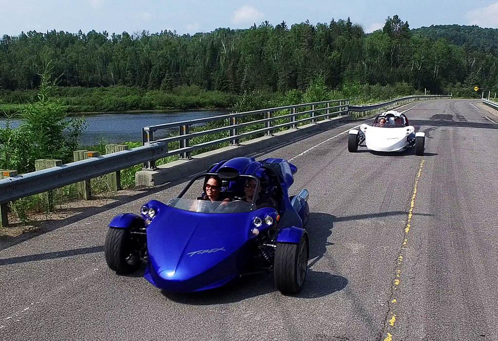 T-REX: این ماشین سه چرخ بیشتر شبیه به یک سفینه فضایی است. موتور 160 اسب بخار این سه چرخه می تواند صفر تا 100 کیلومتر بر ساعت را در مدت 3.9 ثانیه به دست آورد.