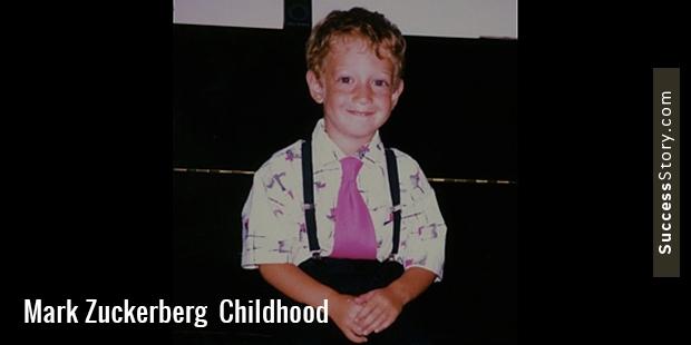 مارک الیوت زوکربرگ در 14 می سال 1984 در وایت پلینز نیویورک به دنیا آمد و در دابز فری، حومه ی نیویورک بزرگ شد.