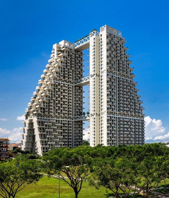 اسکای هبیتات ؛ زیستگاه قرن بیست و یکم سنگاپور