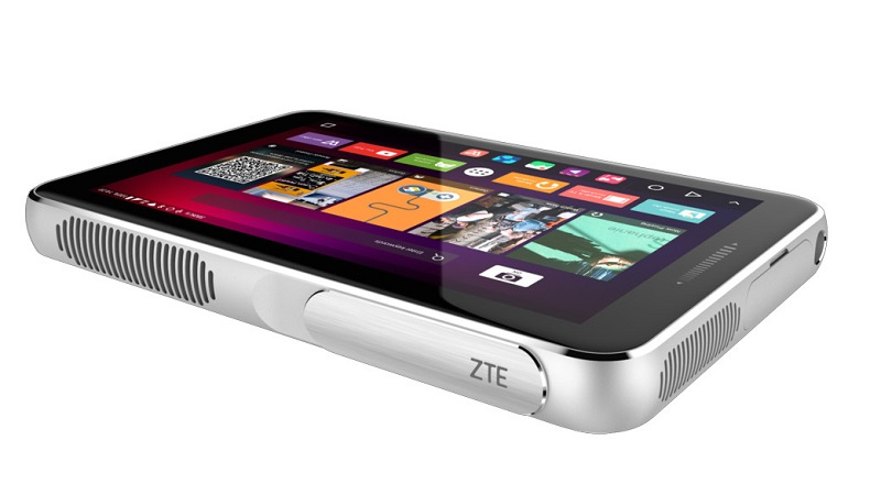 پروژکتور اس پرو پلاس از کمپانی ZTE در کنفرانس جهانی موبایل MWC 2016