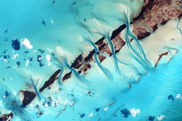"""در این توییت، کلی گفته است: #Bahamas""""، قلم موی آبرنگ شما همیشه منظره ی باطراوت برای شما خلق می کند."""""""