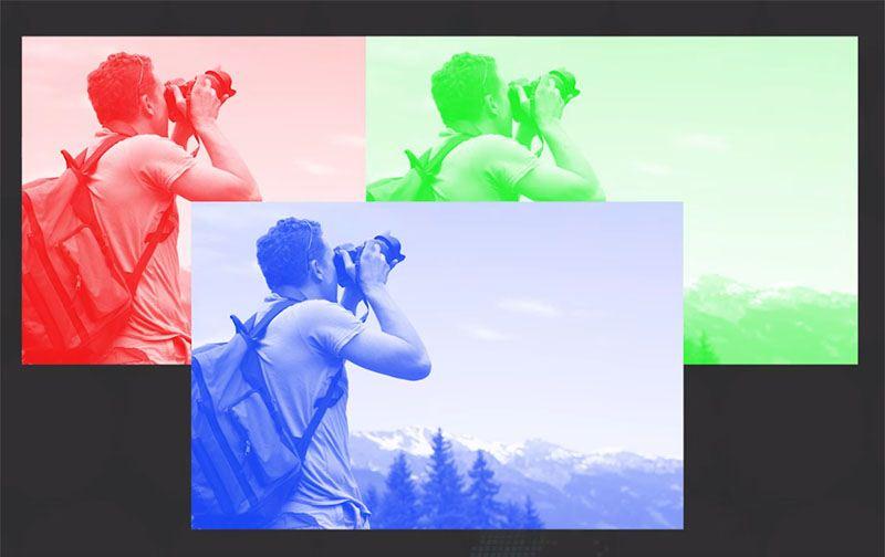 برخی افراد  می توانند ۱۰۰ برابر رنگ های بیشتری نسبت به بقیه افراد ببینند
