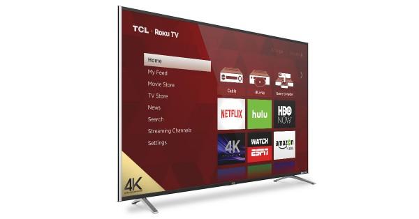 تی سی ال از مدل های تلویزیون ۴K Roku خبر می دهد