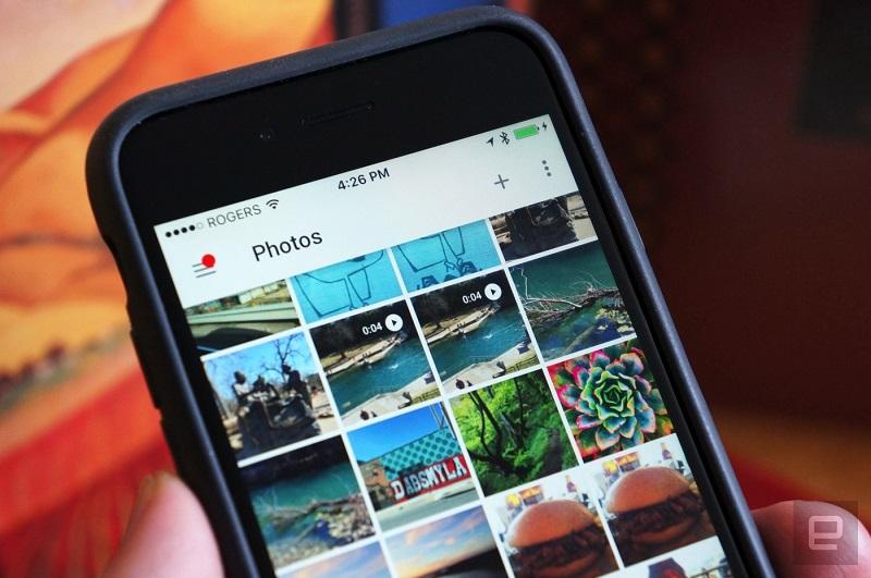 آپدیت جدید گوگل فوتو از لایو فوتو پشتیبانی می کند