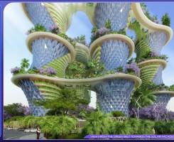 دهکده عمودی Hyperions در هند احداث می شود.