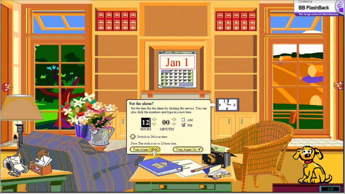 """در سال ۱۹۹۵، مایکروسافت Bob را منتشر کرد؛ یک نسخه ی سفارشی از ویندوز با این هدف که با شبیه کردن کامپیوتر به یک """"خانه"""" با تعدادی """"اتاق"""" کار با کامپیوتر و سرک کشیدن به قسمت های مختلف آن را برای کاربران آسانتر کند. این نسخه واقعا عجیب و غریب بود و نهایتا هم نتیجه بخش نبود."""