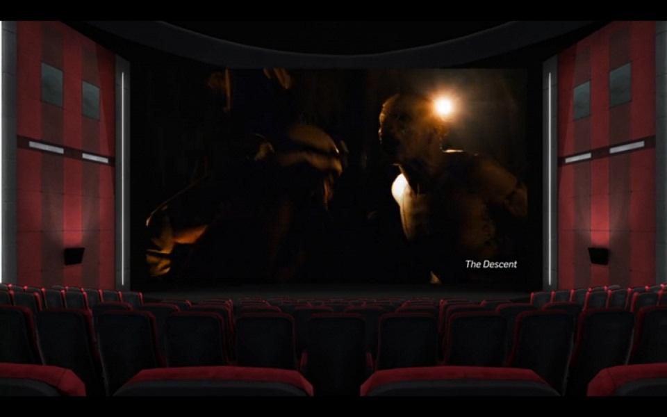 این تصویر هم مربوط به محیط تئاتر این برنامه است. در این محیط تنها هستید.