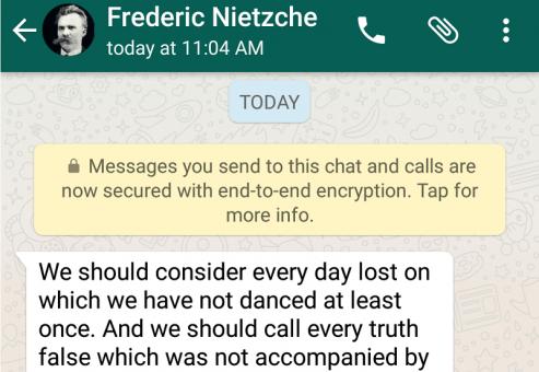 پیام های اپلیکیشن واتساپ کاملا رمز گذاری می شوند