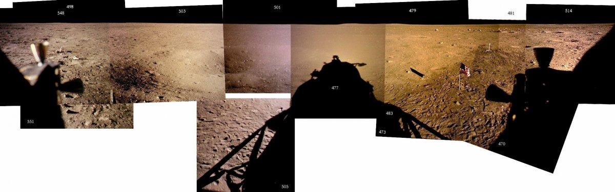هنگامی که آزمایش های خود را انجام داده و عکس هایشان را گرفتند، وقت آن شد که به خانه برگردند. این عکس ها از پنجره ی کاوشگر گرفته شده است.
