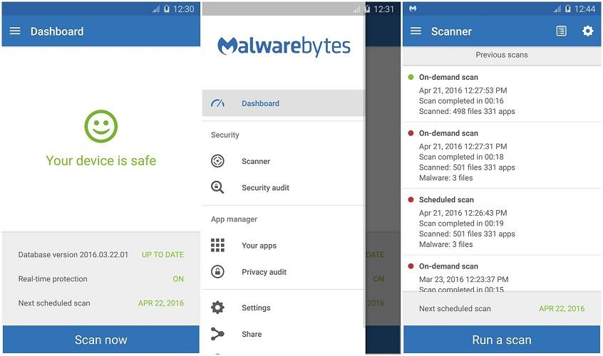 ۵. Malwarebytes Anti-Malware