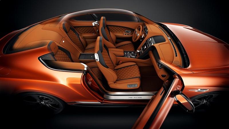 بنتلی نیز مانند سایر خودروسازان لوکس، تلاش خود را در زمینه ی تجهیز ماشین به نمایش می گذارد.