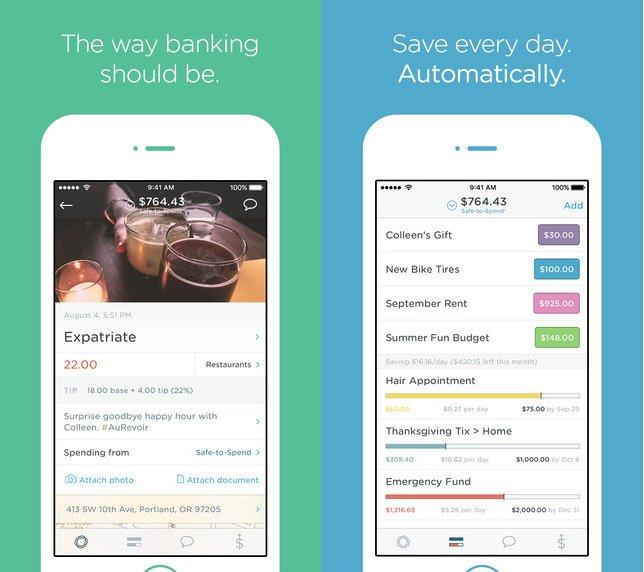 Simple یک بانک تحت وب با یک اپلیکیشن موبایلی که به خوبی طراحی شده و قابلیت های بودجه بندی هوشمند ارائه می دهد.