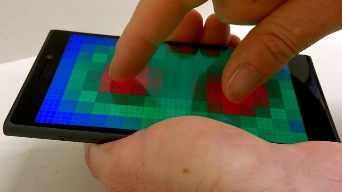 مایکروسافت در حال کار بر روی حسگر پری تاچ یا پیش لمس است