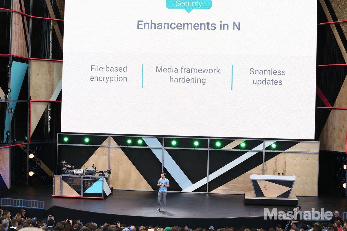 از نقطه نظر عملکرد و کارایی باید بگوییم که اندروید N دارای گرافیک های جدید API است که به عنوان Vulcan شناخته شده اند