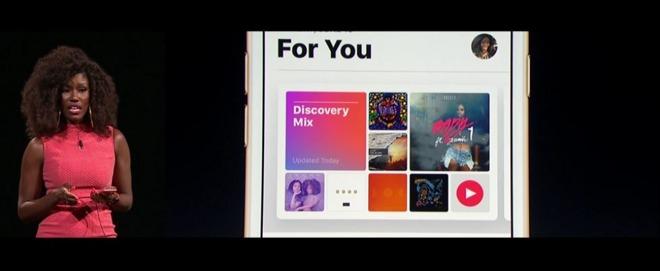 اپل میوزیک با ساختار کاملا جدید خود، خاصیت کاربر محوریِ بیشتری پیدا کرده است. این سرویس با تشخیص مکان کاربر، دسترسی سریع تری به ویژگی هایی که احتمال استفاده آن ها توسط آن کاربران بیشتر است، برایش فراهم می کند.