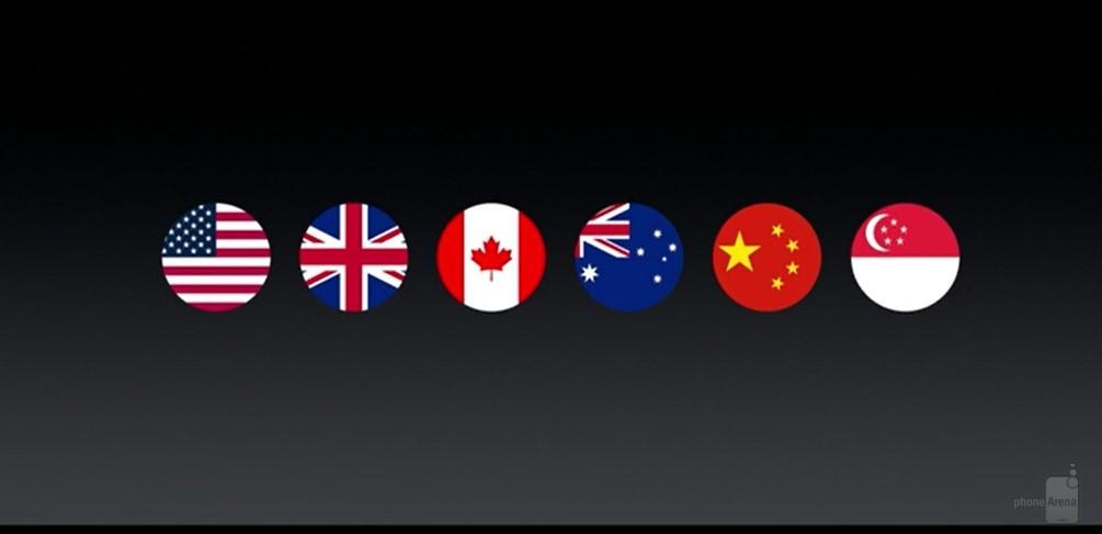 علاوه بر آن، اپل اظهار داشت که اواخر امسال اپل پی راه خود را به سوییس، فرانسه و هنگ کنگ نیز باز خواهد کرد. اپل پی در حال حاضر در کشورهای آمریکا، انگلستان، کانادا، استرالیا، چین و سنگاپور در دسترس است.